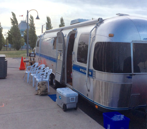 airstream location production vehicle for photography and film
